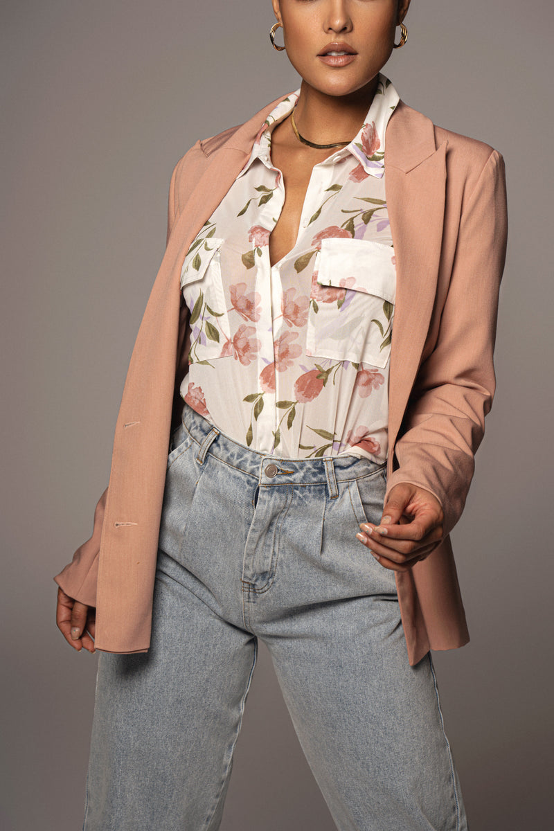 ROSE ARDEN DOUBLE BREASTED BLAZER