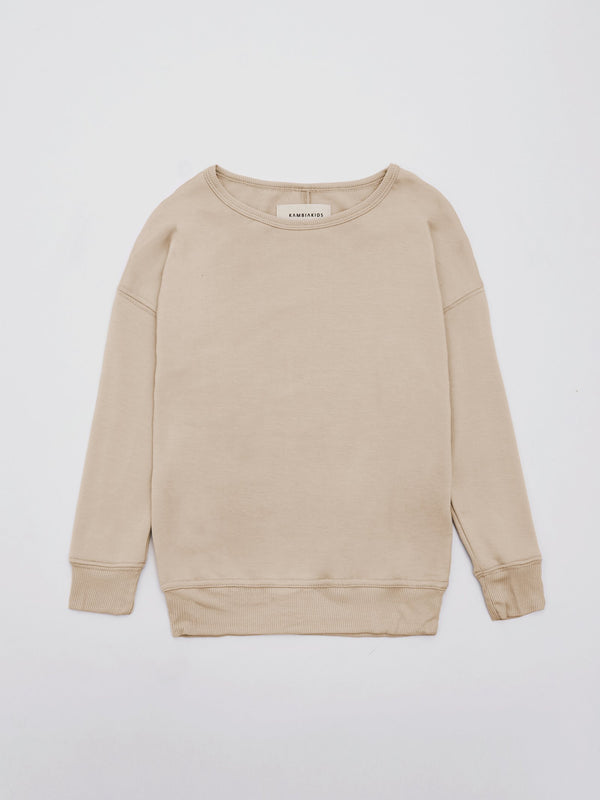 Tan Crewneck Warmie