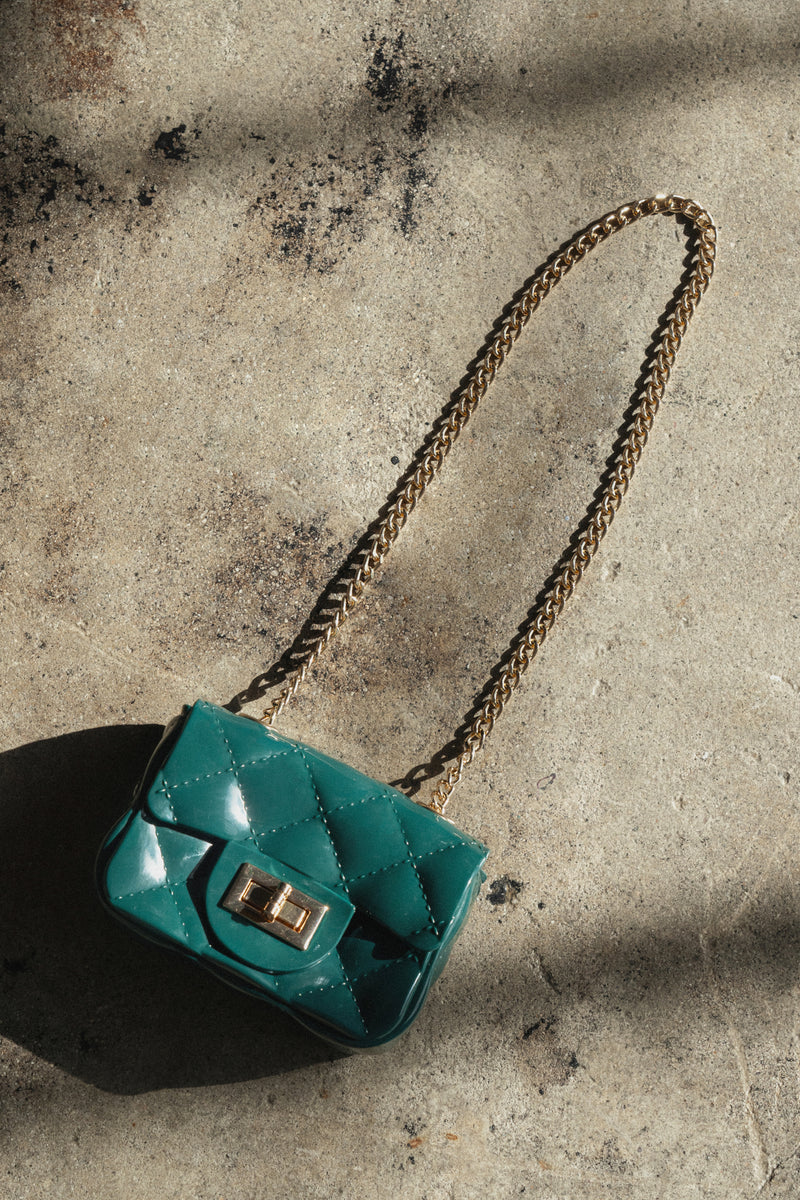GREEN JUST WHAT YOU NEED BAG