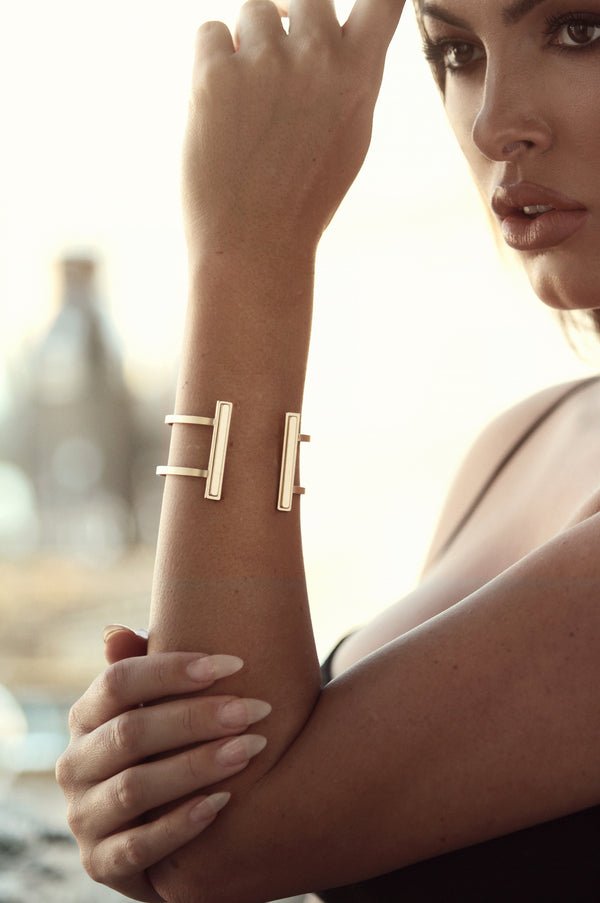 Gold High Polish Cuff