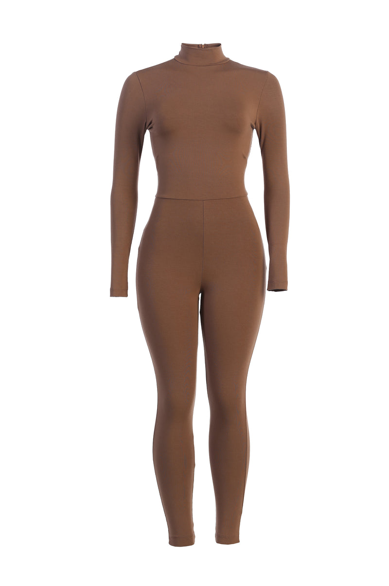 COCOA SAHARI HIGH NECK JUMPSUIT