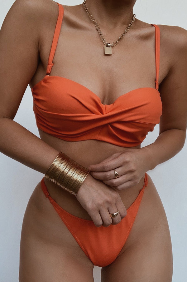 SUNSET DALI TWISTED BIKINI SET