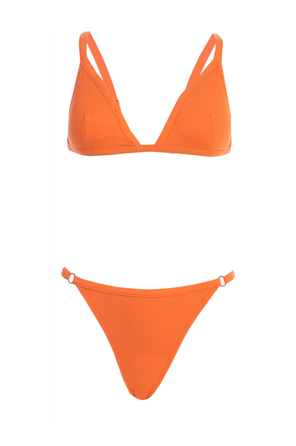 SUNSET EMILIA RIBBED BIKINI