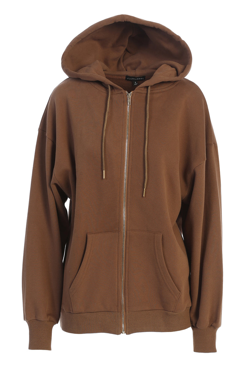 PECAN UNISEX ABELLA ZIP UP