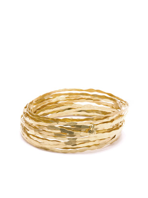 ECHO CHIC - Hammered grass bracelet