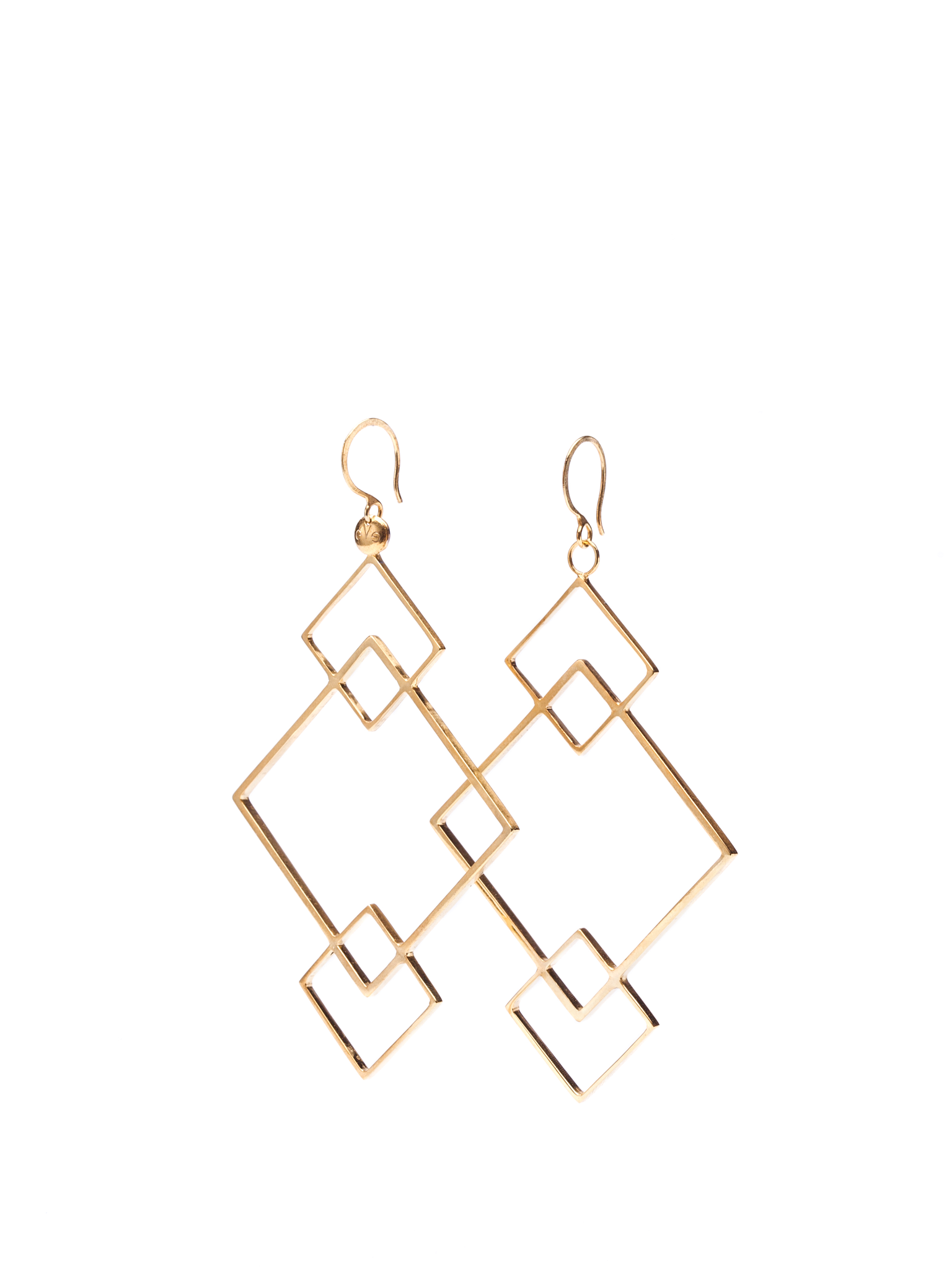 QUADRATIC - Hook earrings KIFUTÓ!