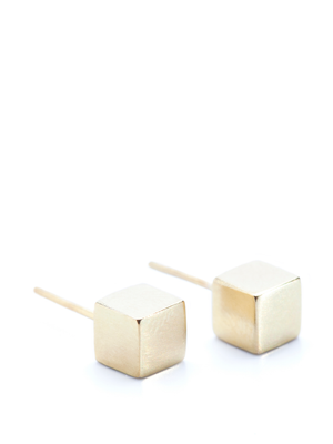 CLEAN LANES - Cube earrings