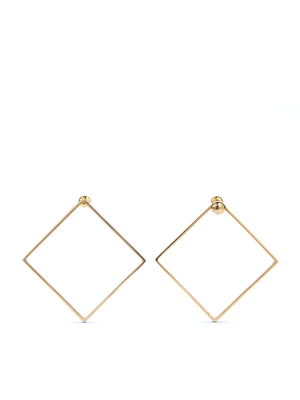QUADRATIC - Square earring