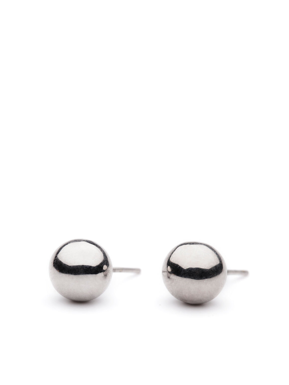 CIRCLE LINES - Stud ball earrings