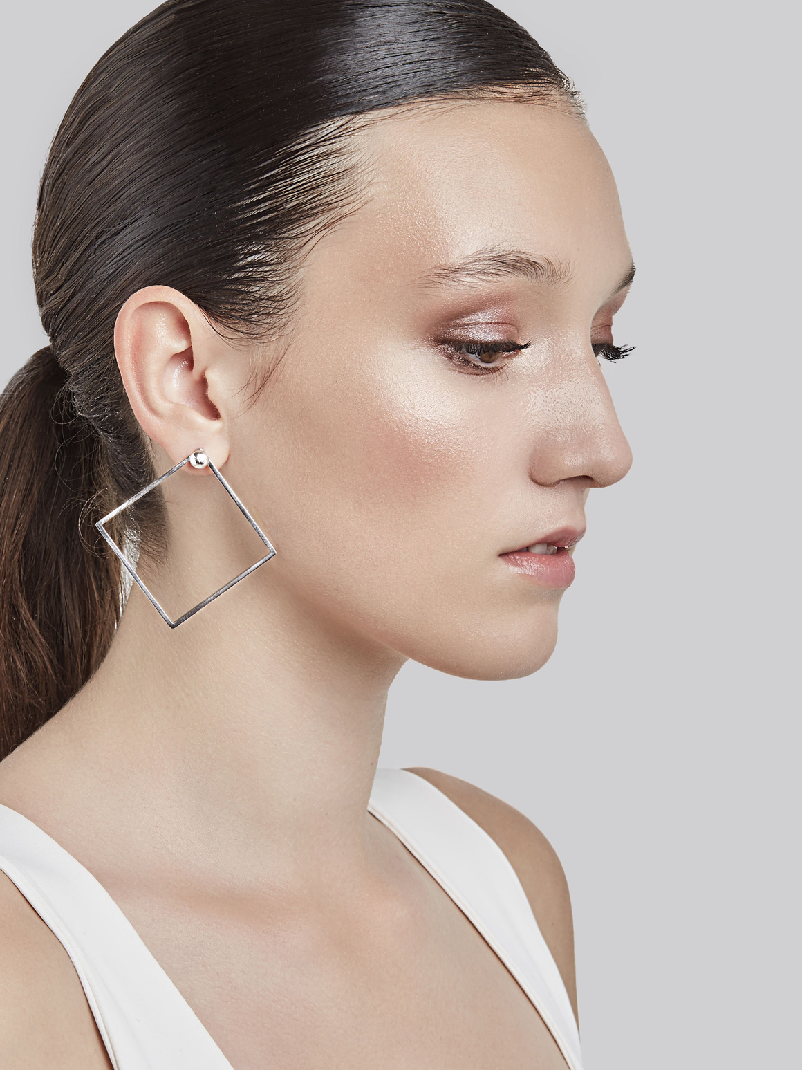 QUADRATIC - Square earrings