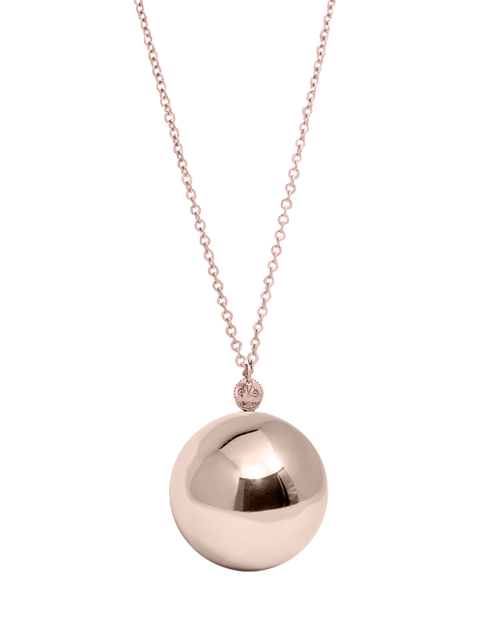 Rosé Ball necklace