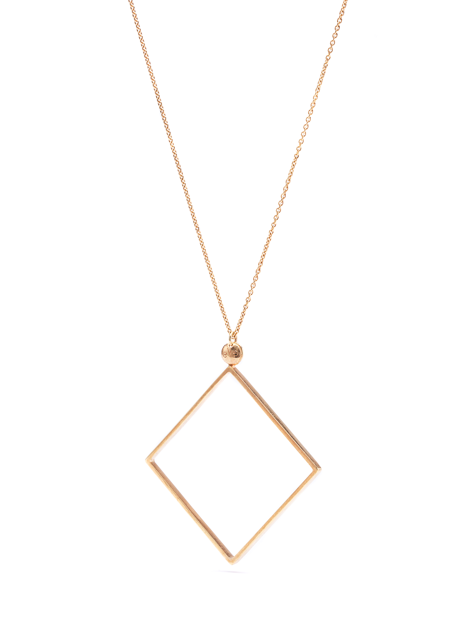 QUADRATIC - Square necklace