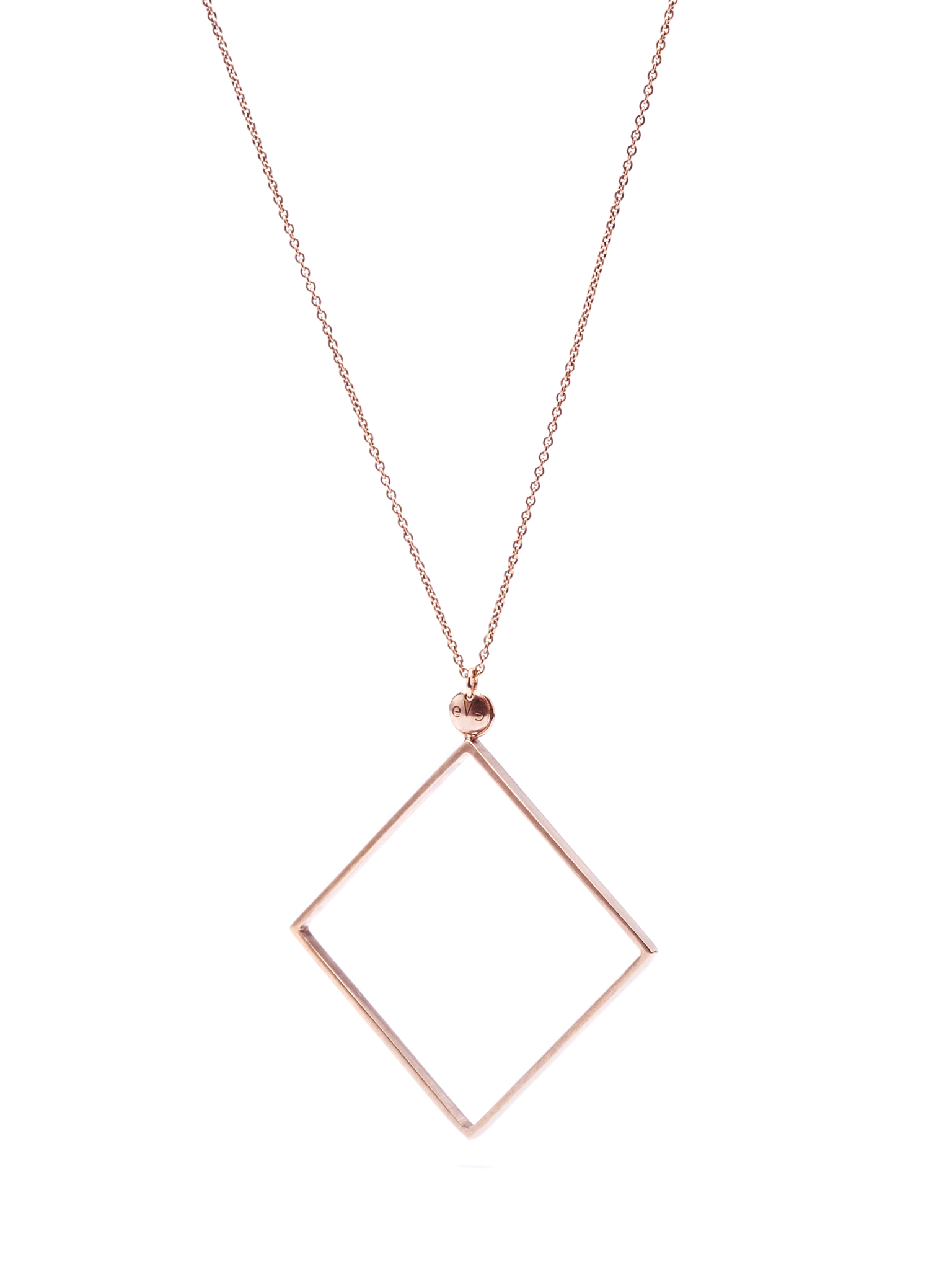 Rosé Square necklace
