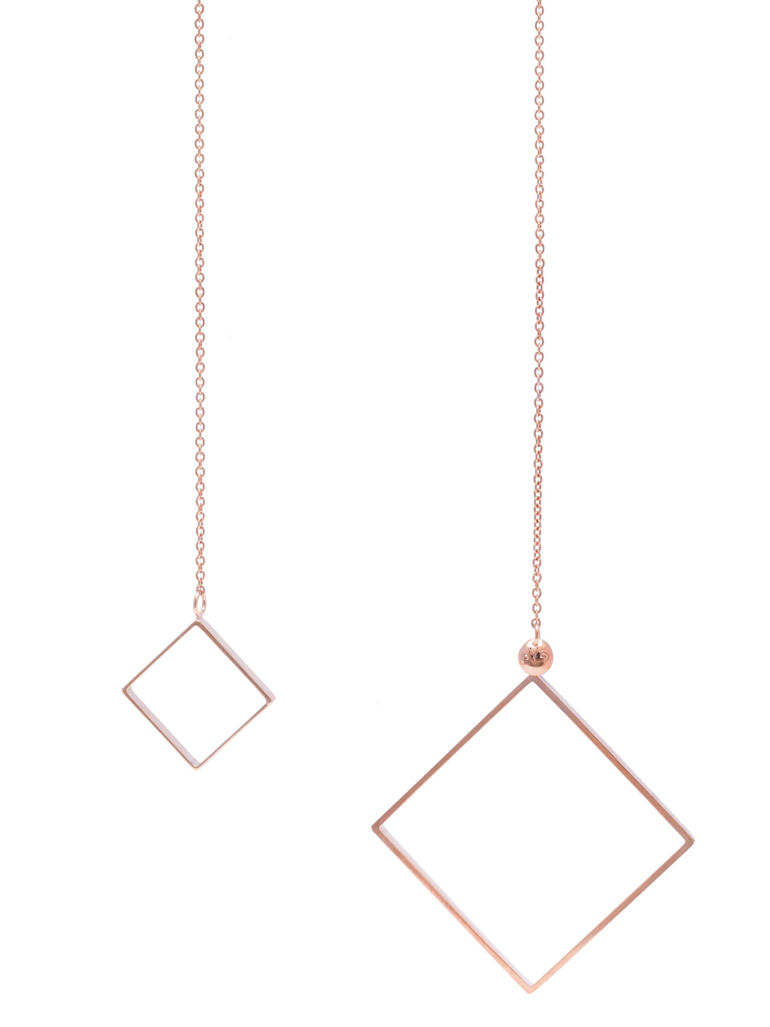 Rosé Looping necklace