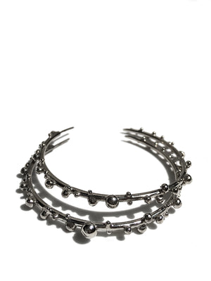CIRCLE LINES - Berry hoops Rhodium / Black Rhodium / Rose