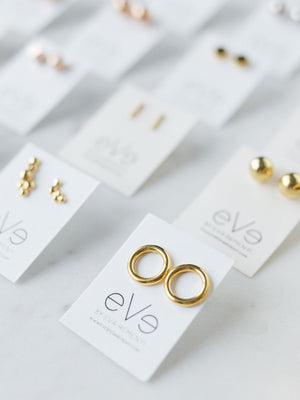 CIRCLE LINES - Sol earrings