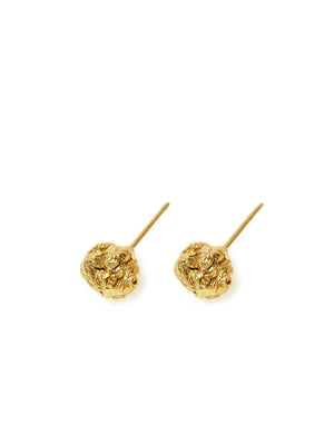 Archaic stud earrings