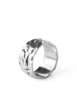 RUSTIC FINISH - Volcano ring