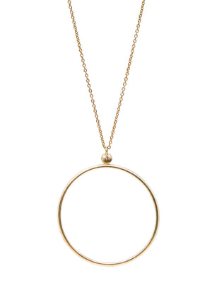 CIRCLE LINES - Sol necklace