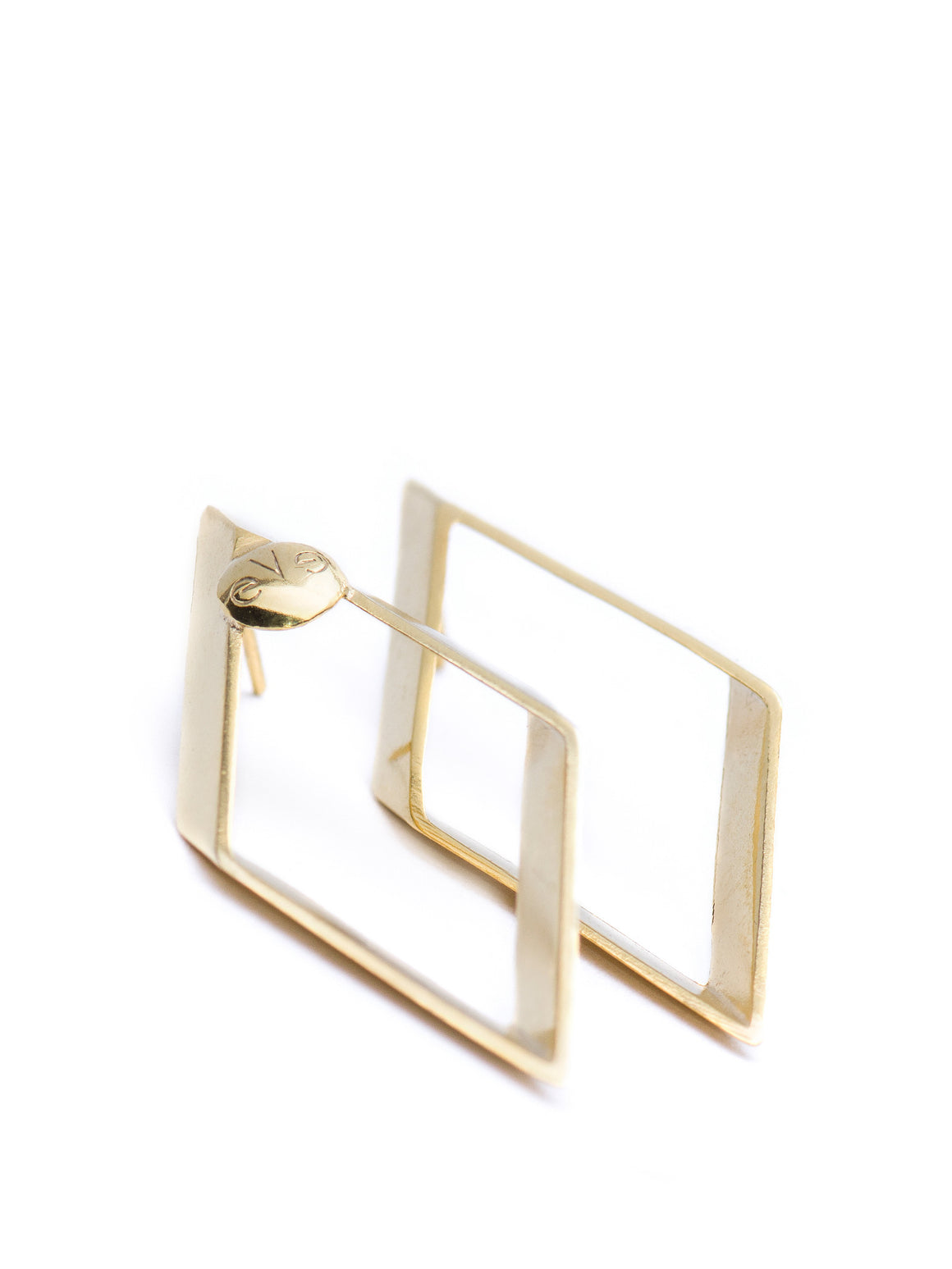 PURE GEOMETRY - Rombus earrings