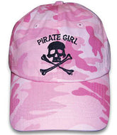 Pirate Girl Camo Hat