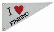 I Love Fishing Pennant