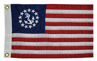 Deluxe Sewn U.S. Yacht Ensign - 48x72