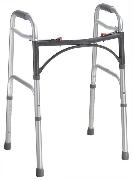 Folding Walker, Two-Button-Low Height