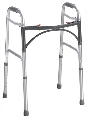 Folding Walker, Two-Button-High Height