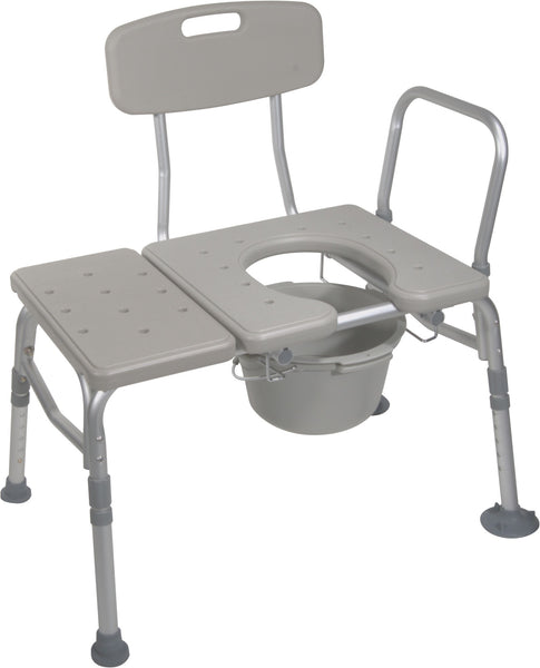 Combination Transfer Tub/Commode