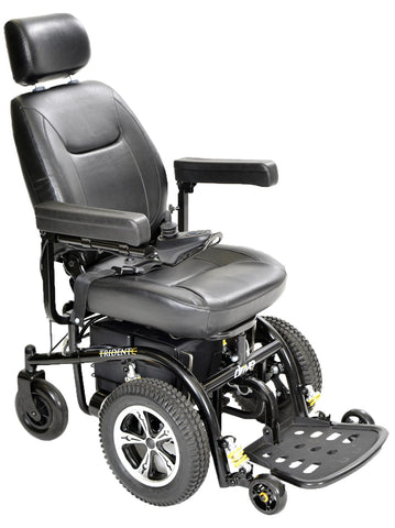 Trident Standard, Front Wheel, Power Wheelchair, 18""