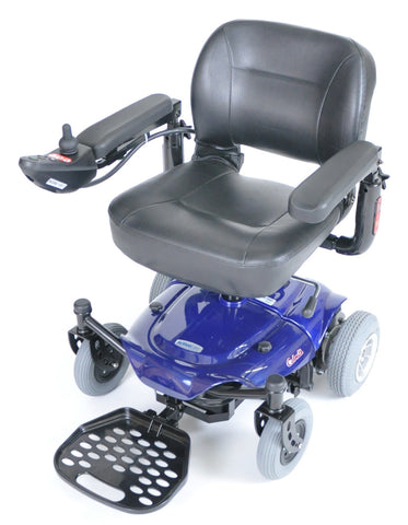 Cobalt Travel Power Wheelchair, Blue