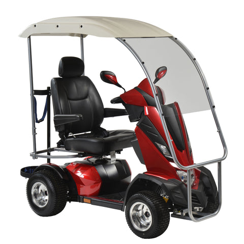 "King Cobra Personal Golf Vehicle Executive Power Scooter, 4 Wheel, 22"" Captain Seat"