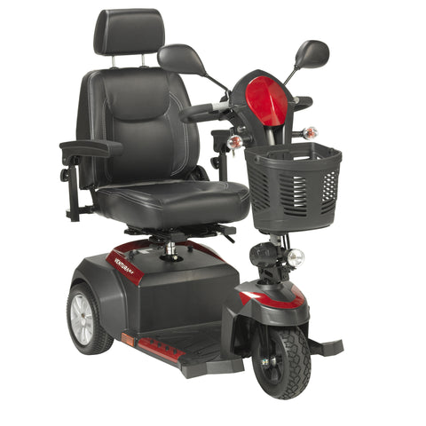 "Ventura Power Mobility Mid-Size Scooter, 3 Wheel, 18"" Captains Seat"