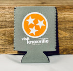 Visit Knoxville Tri-Star Koozie