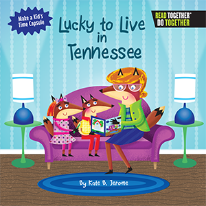 Book-Lucky to Live in Tennessee