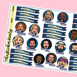 Dancing With the Stars Planner Stickers DWTS Season 29