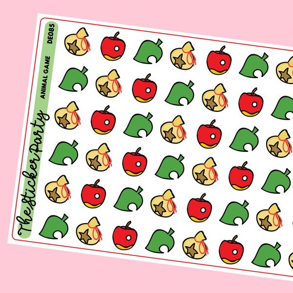 Animal Gathering Planner Stickers