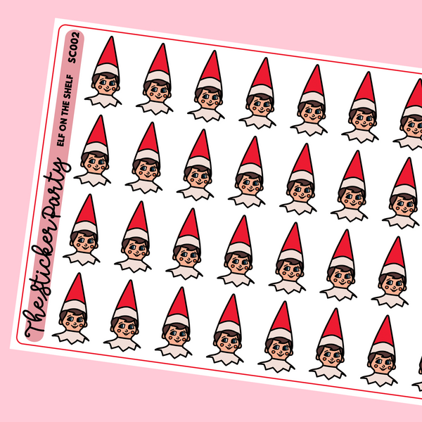 Elf On The Shelf Planner Stickers