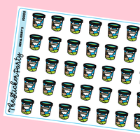 Ben & Jerry's Ice Cream Planner Stickers