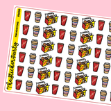 Tim Hortons Planner Stickers