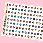 Star Planner Stickers Star Icons