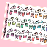 Work Out Planner Stickers