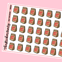 Skip The Dishes Planner Stickers