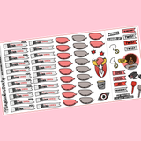 Big Brother Canada Play-Along Kit TV Show Planner Sticker Flags Kit