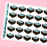 Hot Tub Planner Stickers