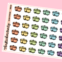 Slow Cooker Planner Stickers