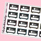 Apple TV+ Planner Stickers