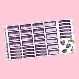 The Masked Singer Planner Stickers Season 3