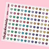 Heart Planner Stickers Heart Icons